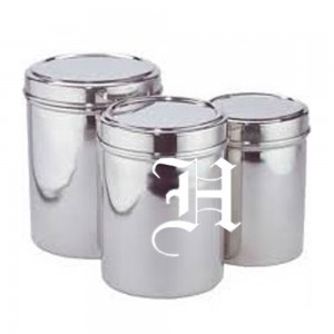 Canisters with cover