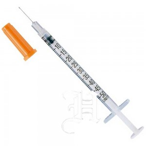 Insulin syringe